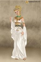 Demeter: Goddess of the Harvest by ranichi17