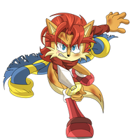 [Sonic Archie Comics] The return of the King by mizusawa-yuki