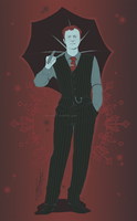 Mycroft Holmes 1 by RedPassion