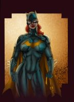 _Batgirl Color by JardelCruz