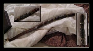 Serpent Wand by hever