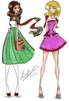 Two Dresses 3 by LoLoxD