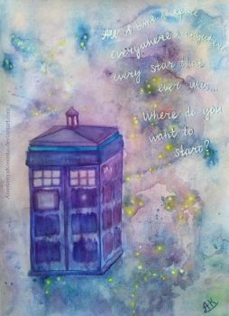 Doctor Who - All of Time and Space... by AnastasiyaKosenko