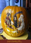 Anime Pumpkin 2008 by StarMasayume