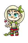 Cherolie Applethorn - Sugar Rush Racer by little-space-ace