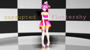 LatProject - Corrupted Fluttershy by LeDerpyPie