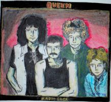 Queen Rocks by Sillyhatlovingbro