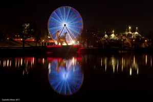 Melbourne City Ferris Wheel by DanielleMiner