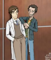 House M.D. - BFF by mistress-samwise