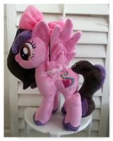 Another My little pony Plushie Commission Complete by CINNAMON-STITCH
