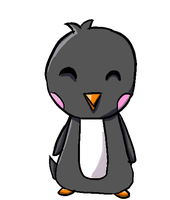 Chibi Penguin for Mackiluvswaffles by klilia