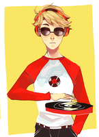 dave-homestuck by LaWeyD