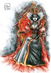 Queen of Hearts by OlgaLo
