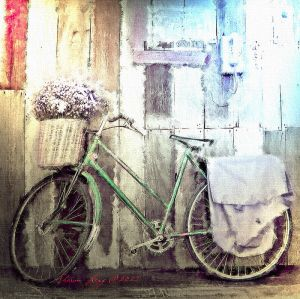Bicycle Painting by SharonLeggDigitalArt