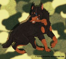 Skythe Big dog by NathalieNova