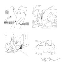 Howard The Cat #5: Sunday by Wormed