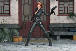 Black Widow by Posereality4