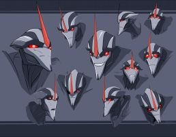 Starscream. Transformers Prime by Shamba999