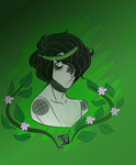 green with envy by witchycorpse