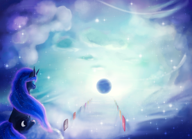 Luna and Doors by Rodrigues404