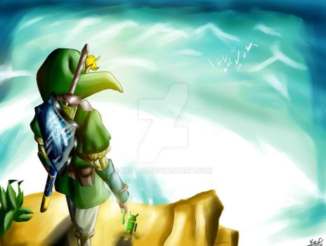 Link and Andy by KevA95