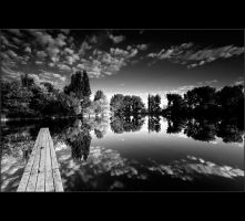 black lake by arbebuk