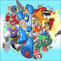 megaman2 on RockmanMegamix by pain-v