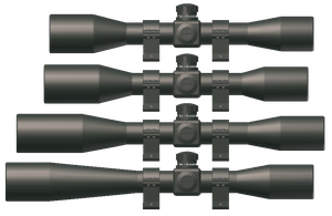 Generic Rifle Scopes by CrazyRonn