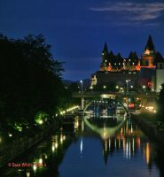 Ottawa Canal + Structure by 1shotaway