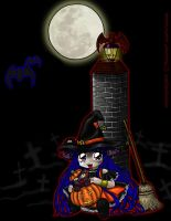 A Very Chibi Halloween by Leara