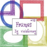 Antique Frames Brush by violetivory