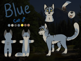 Blue Reference by catdoq