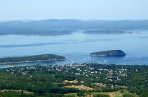 Harbor from Above by annwyd