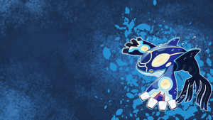 Wallpaper Primal Kyogre by AlouNea