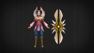 Order of the Lotus Irelia - 3D Model + DL by LoL3DModels