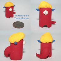 Chadwick the Timid Monster by TimidMonsters