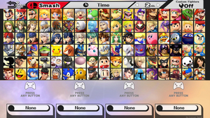 Ultimate Smash Bros. for Wii U COMPLETE 7/7 by MachRiderZ