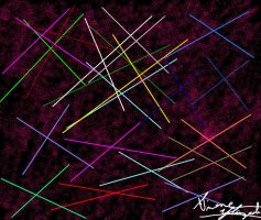 """""""Scattered Lines"""" by PunkGirl-Simeone"""