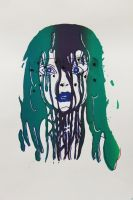 Drowning in Paint VE Green/Purple by Arlisaa