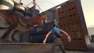 Dinosaurs invade Team Fortress 2 (Part 5) (w/ RD) by 0640carlos