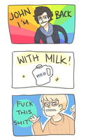 SH: I'M BACK...WITH MILK by Randomsplashes
