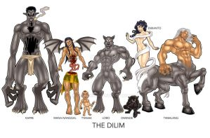 2012 Dilim Character Lineup 3 by urbanmusiq