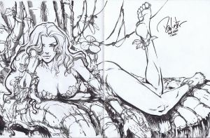 Poison Ivy MidOhioCon commission by Danielleister