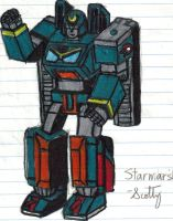 Starmarshal robot mode by Retahensid