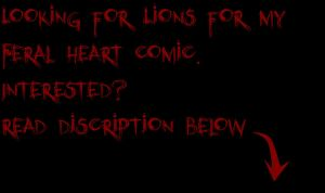 Lions needed by Feral--Heart