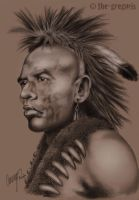 wes studi - the pawnee by the-gregoris