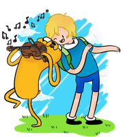 Pet series: Finn 'n' Jake by AninhaT-T