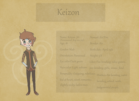 Keizon Reference by Above-It-All