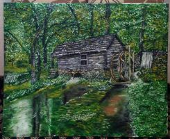 Live Watermill by ErvinOgrasevic