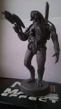 ME 2-3 Legion Miniature Statue (8) by zhe-holti
